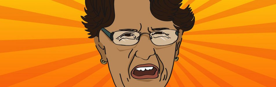 Angry Old Lady