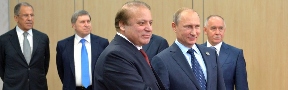 Nawaz Sharif and Putin