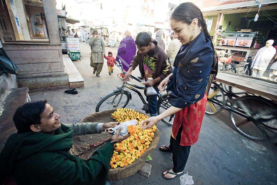 Sonia in Pushkar
