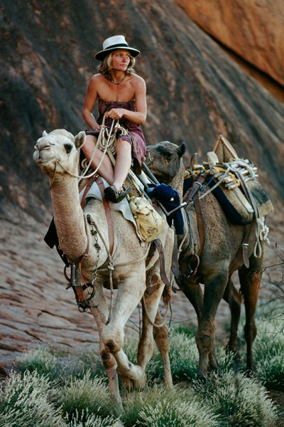 Robyn Davidson and Camels