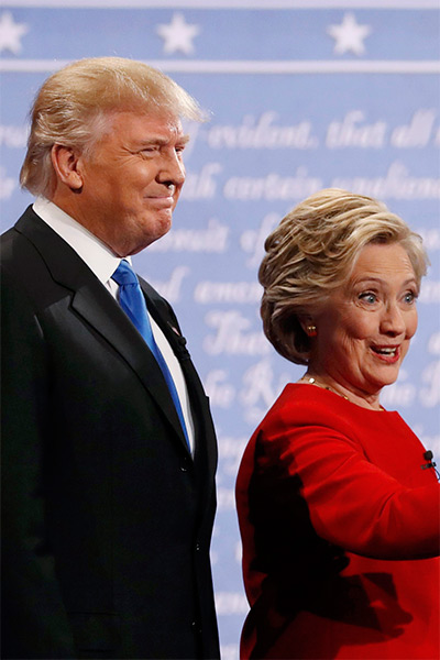 Trump Clinton Debate 1