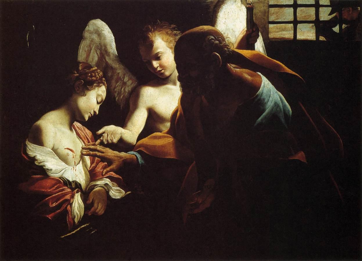 St. Peter healing Saint Agatha