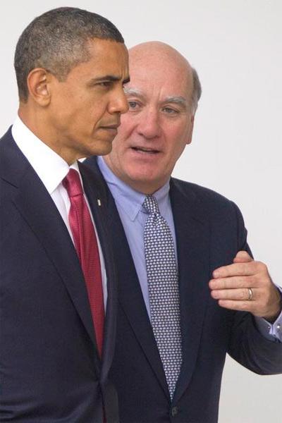 Barack Obama and William Daley
