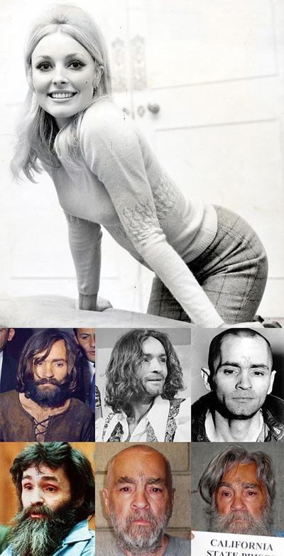 Sharon Tate and Charles Manson
