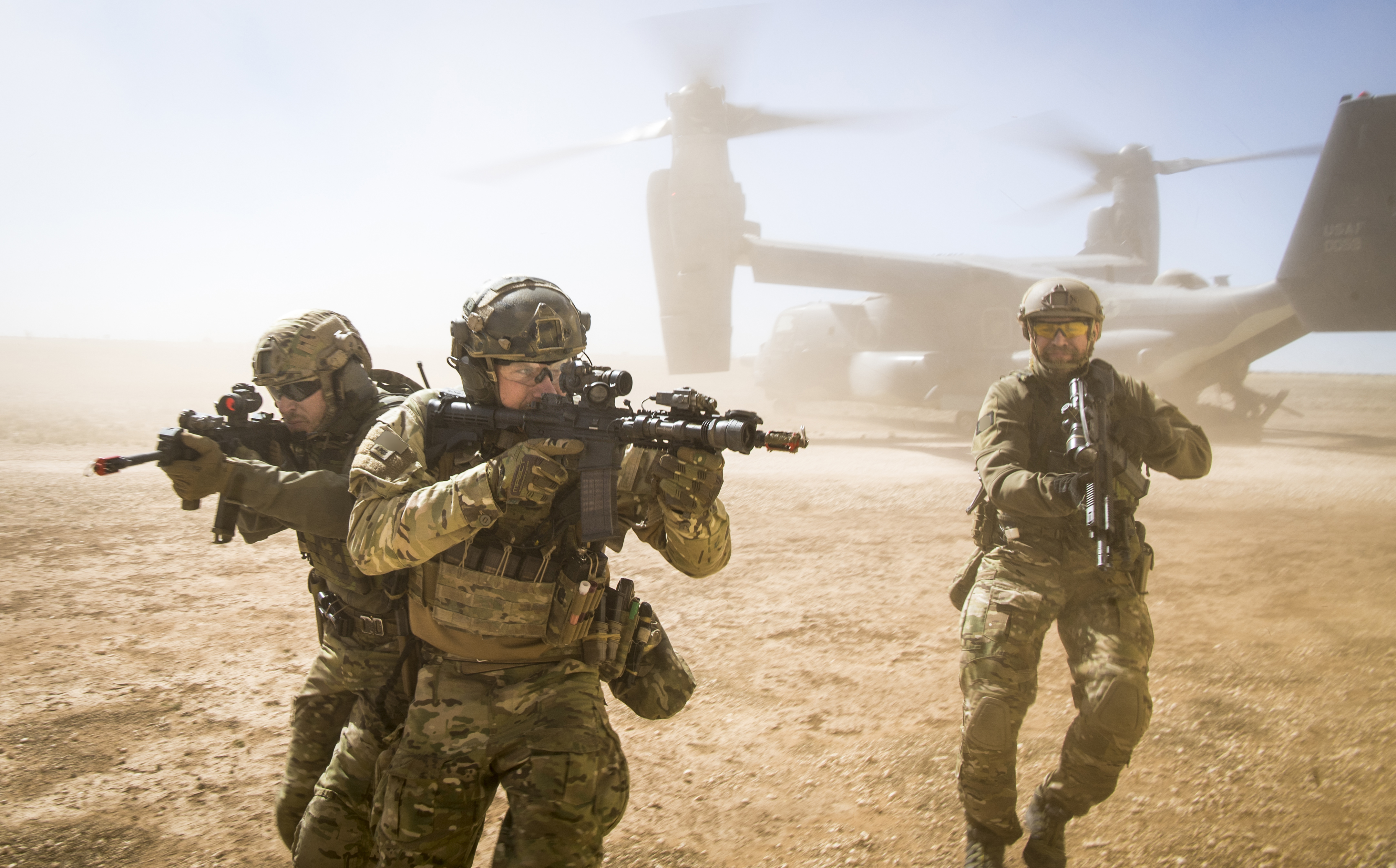 U.S. Special Forces – In Syria & Elsewhere