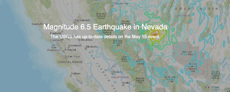 USGS: 6.5 Magnitude Earthquake In Nevada Near Area 51