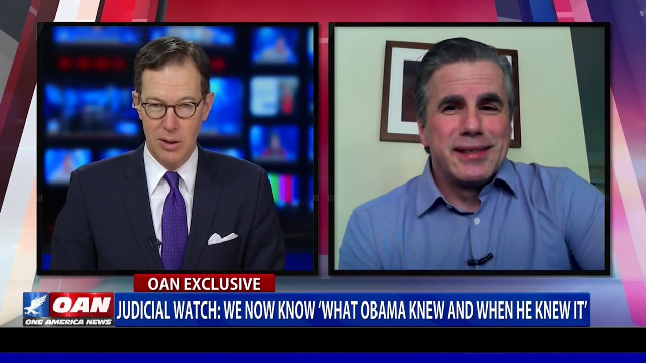 Judicial Watch Tells OANN That We Now Know What Obama Knew And When He Knew It Regarding Flynn/Trump Surveillance