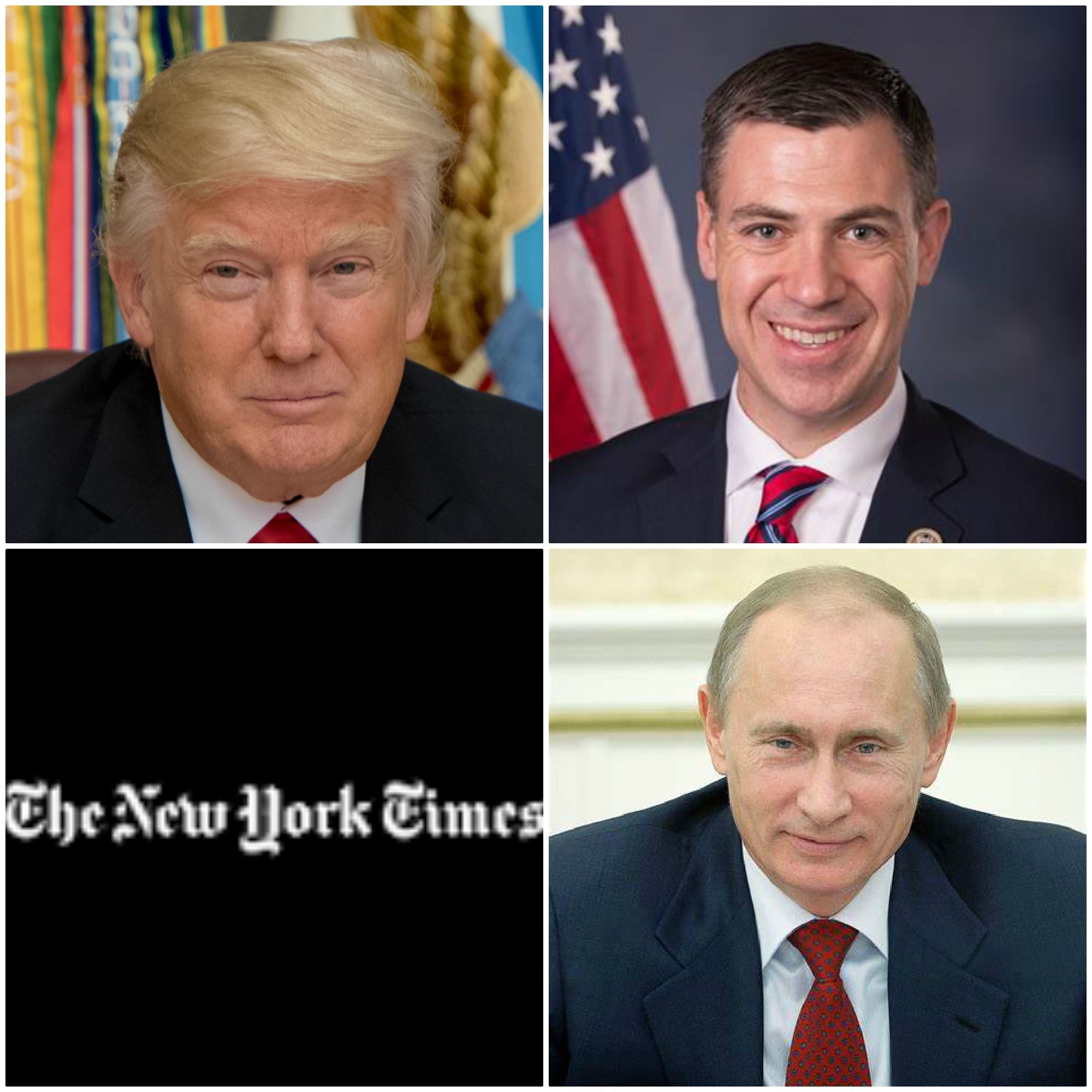 Representative Jim Banks:  New York Times Used Unconfirmed Intel In An Ongoing Investigation