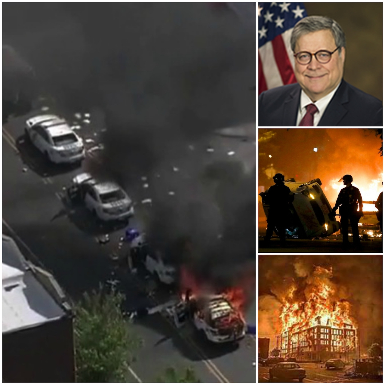 """Attorney General Barr:  Domestic Terrorists Hijacking """"Peaceful And Legitimate Protests"""""""