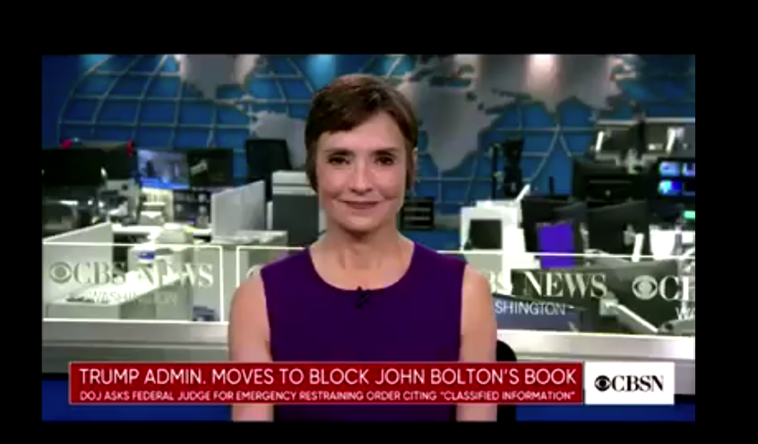 """Catherine Herridge: DOJ Sources Say Bolton's Book Contains """"Highly Compartmented Intel"""""""