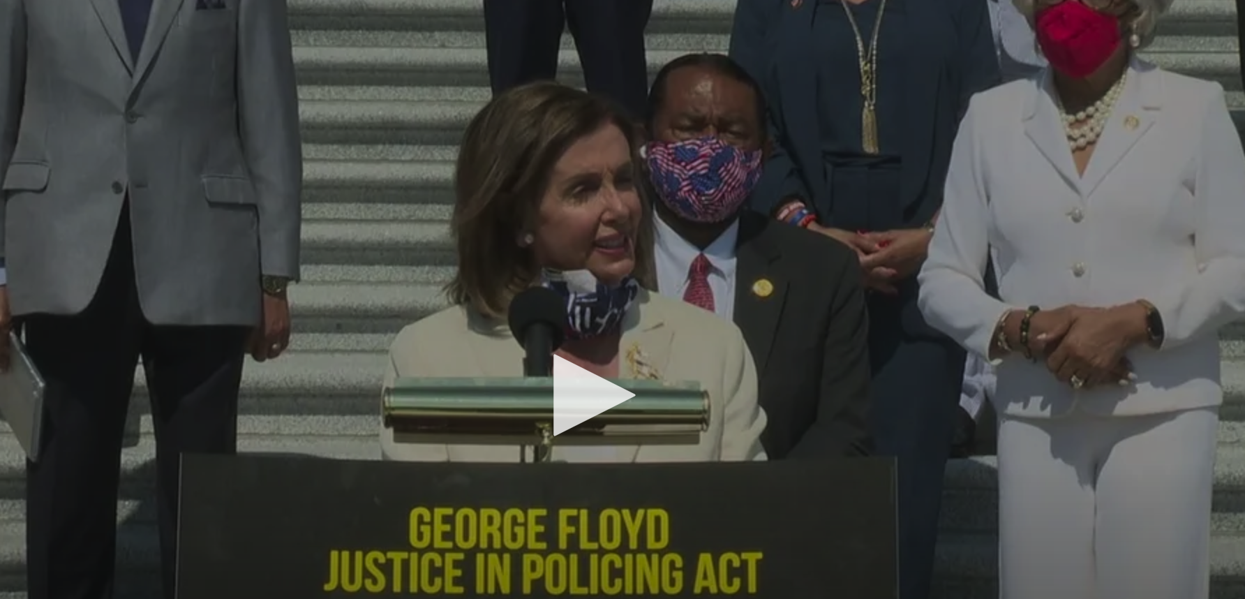 House Democrats Hold News Conference On Police Reform Legislation After Senate Democrats Blocked Senator Scott's JUSTICE Act Reform Bill