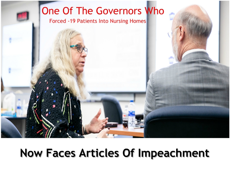 Articles Of Impeachment Filed Against Pennsylvania Governor Wolf – Will Other Governors Also Be Targeted?