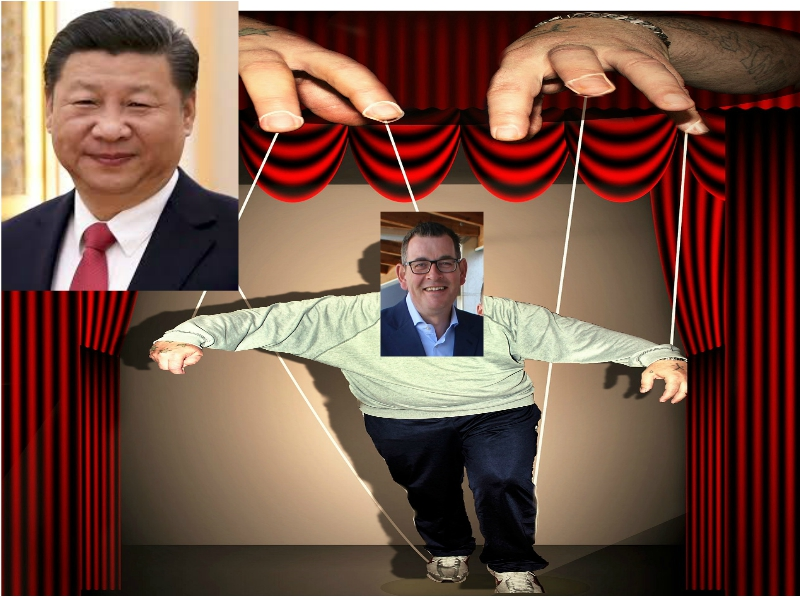 Australia's Victoria State Premier Andrews A Chinese Puppet?