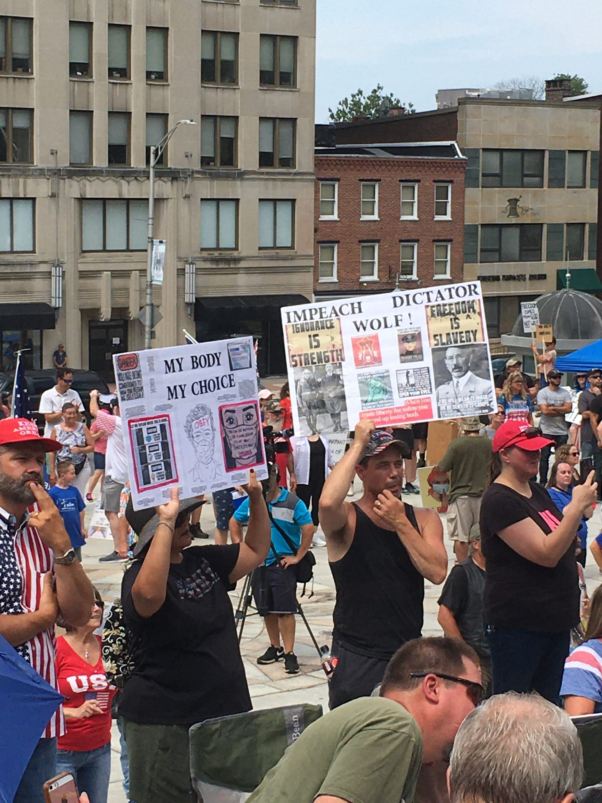 "LIVE: Assembly For Freedom – Now In Harrisburg, PA – Cries Of ""Impeach Wolf"""