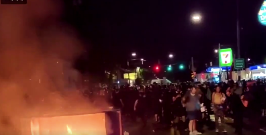 "As Violence Continues In Portland, Media Accused Of Ignoring the ""Criminal"" Behavior"