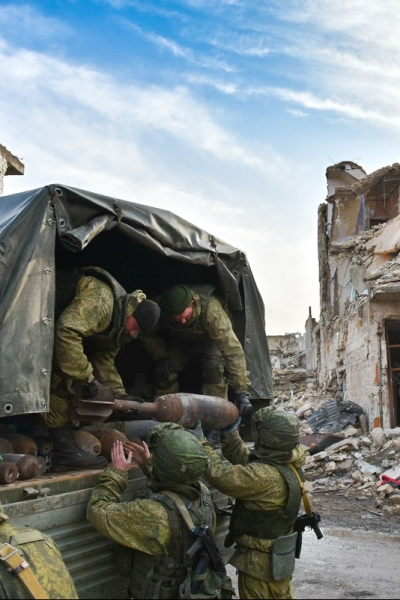 Taking Control Of the Situation In Syria