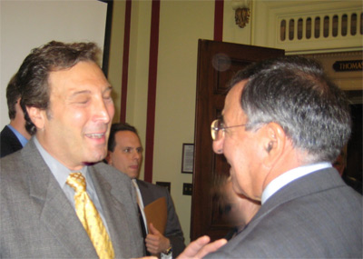 Ted Ventrasca and Leon Panetta