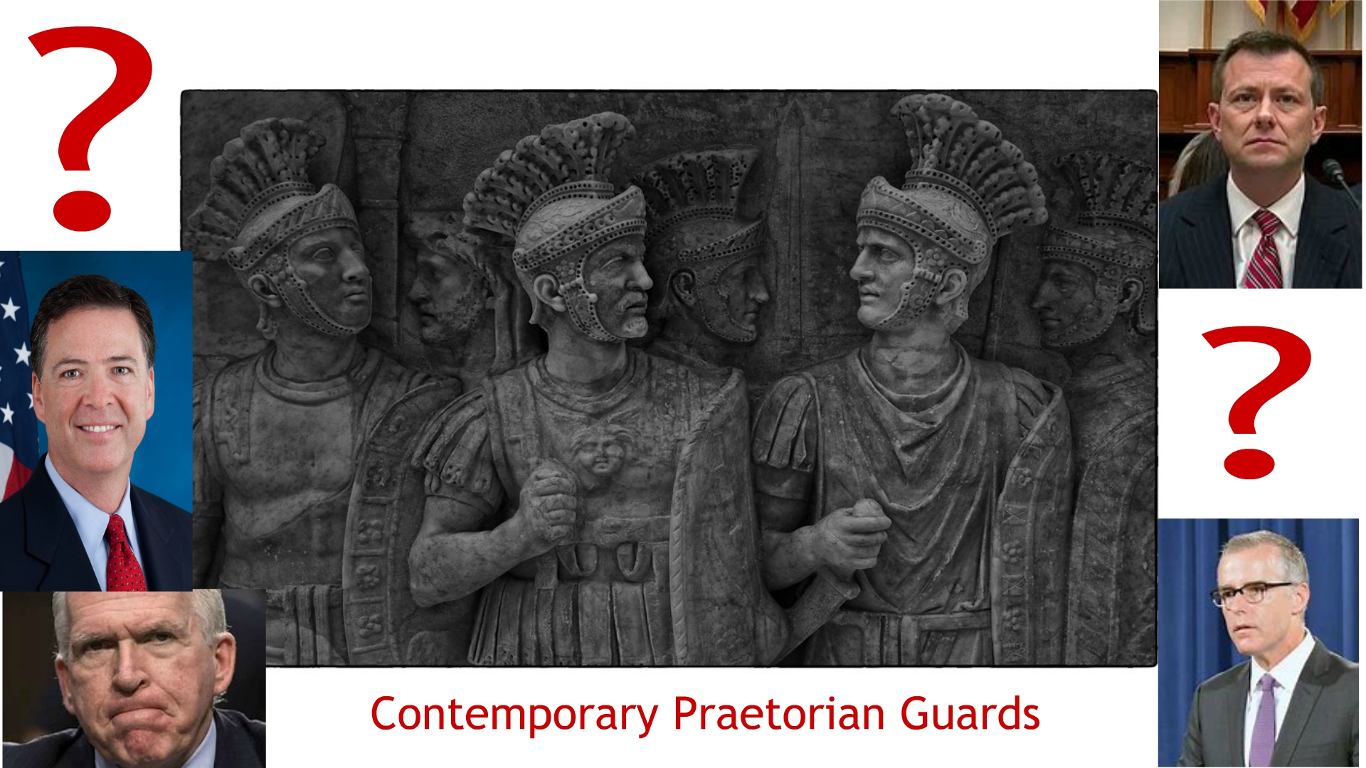 The Praetorian Guard – U.S. Security Officials Decide Who Is Fit To Be President