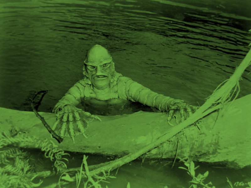 We've Seen This Movie Already – Swamp Creatures