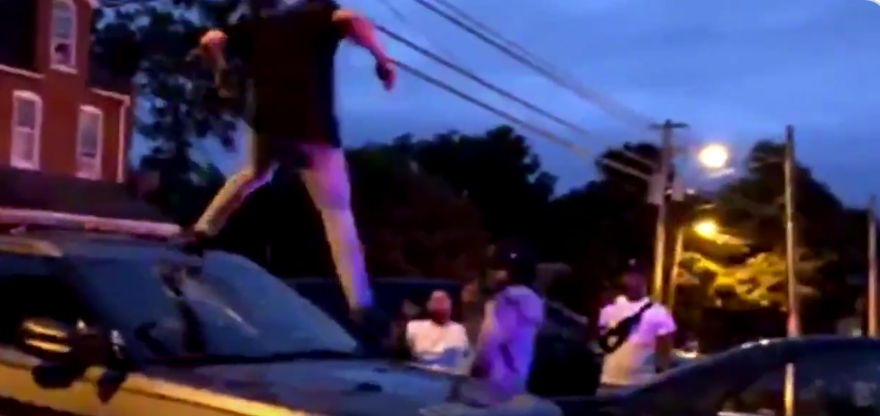 Rioting In Lancaster, PA Following Shooting Of Armed Suspect
