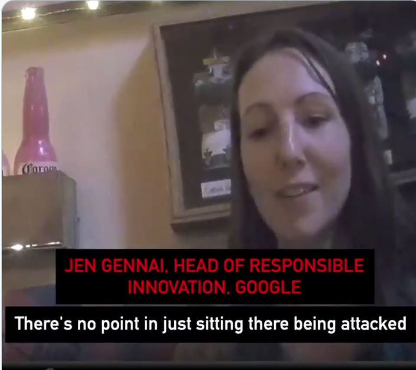 "Google Employee Says If Google Broken Up We Couldn't Prevent The Next ""Trump Situation"""