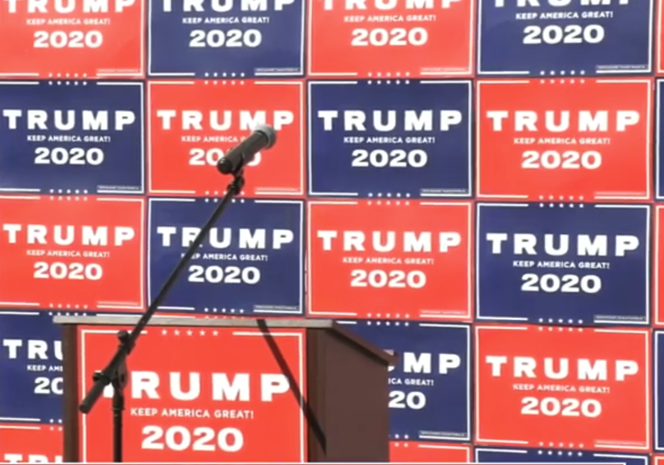 Live:  Trump Campaign Press Conference From Philly