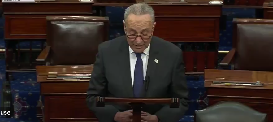 Senator Schumer Pushes For Biden Cabinet Confirmation In Advance Of 20 January Inauguration Of Next U.S. President
