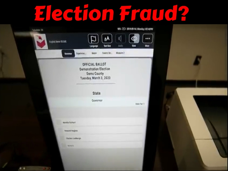 Not Certifiable: Security Group Issues Forensics Report On Antrim, MI Dominion Voting Machines