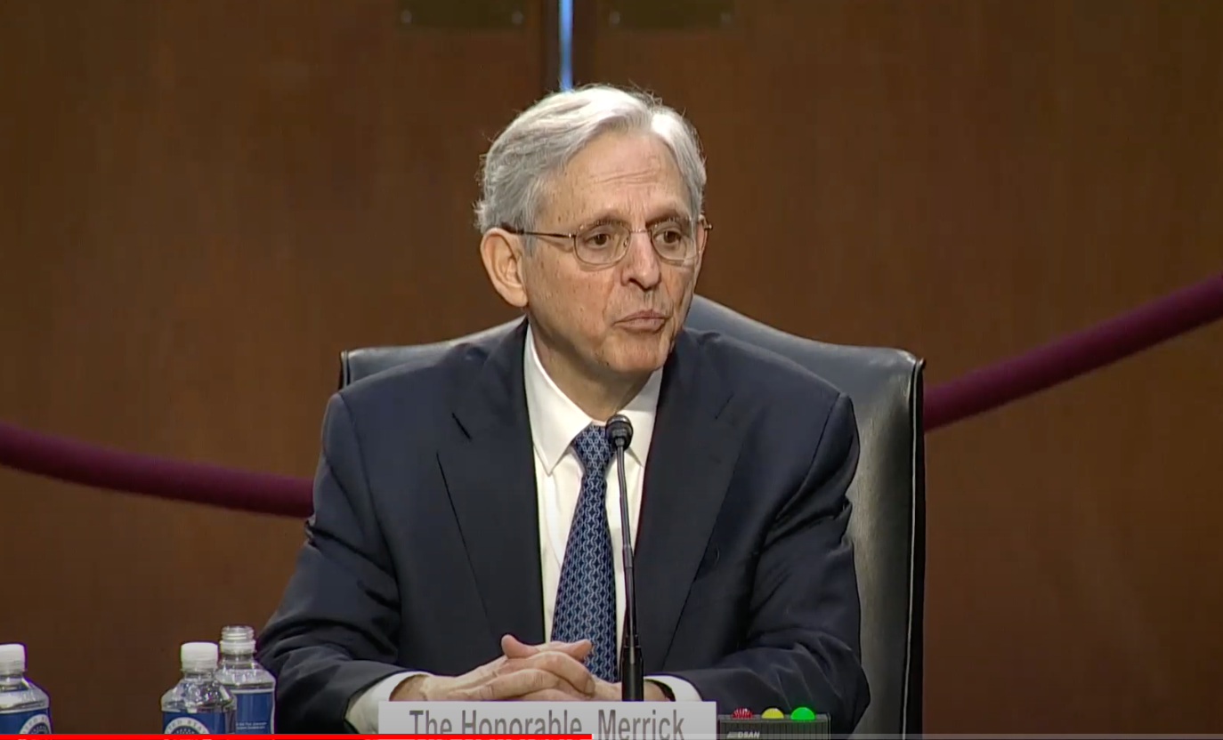 Merrick Garland Testifies That Antifa Attacks Against Portland Federal Courthouse Probably Not Domestic Terrorism