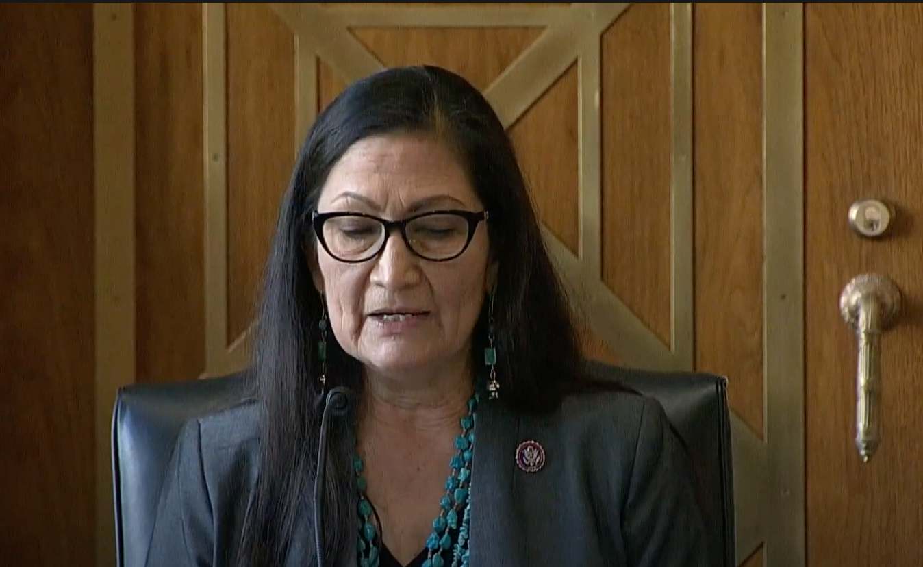 Rep. Haaland Confirmation Hearing