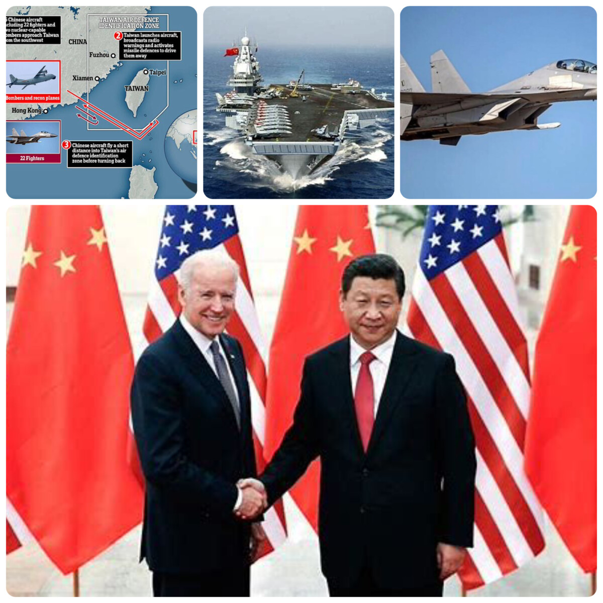 China Sends Its Air Force Towards Taiwan:  War On The Horizon, Or A Tempest In A Teapot?